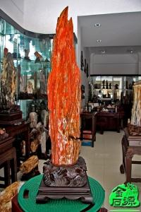 树化玉-NO.3900红色树化玉