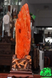 NO.5050红色树化玉